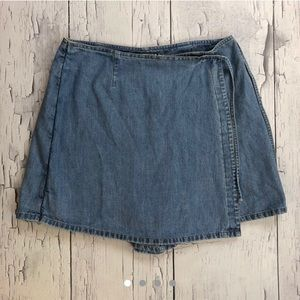 Vintage denim skirt size 12 by Memphis